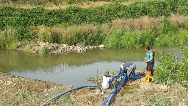 거류면 구현마을-신은마을, 농업용수 공급 위해 협력 (임시 취수장 설치) (2).jpg