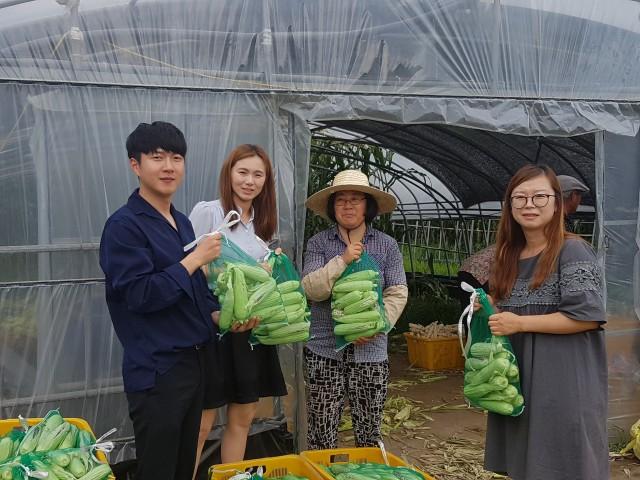 영현면사무소 귀농인 돕기-왼쪽에서 세번째 김식자씨(1).jpg