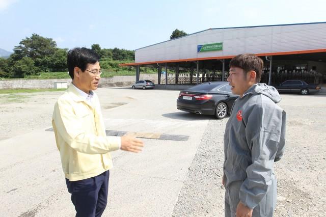 이향래고성군수권한대행AI근무자 격려방문(1).JPG