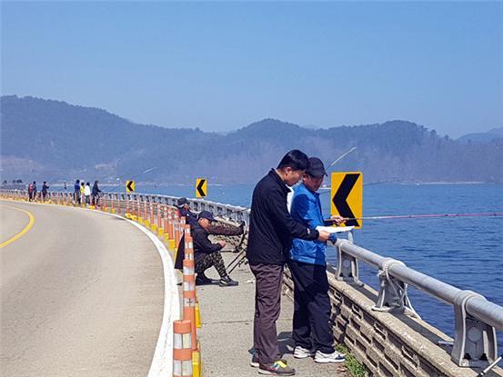 고성군 동해면 내산리·외산리 해역  패류독소 기준치 초과(행락객 및 어업인 행정지도).jpg