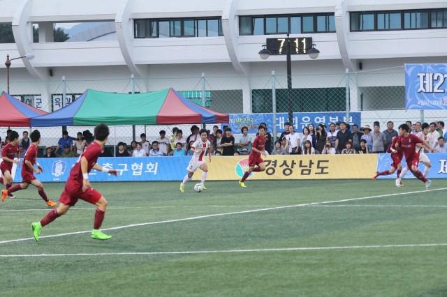 제23회 무학기 전국고등학교 축구대회, 경남 고성군에서 개막 (1).JPG