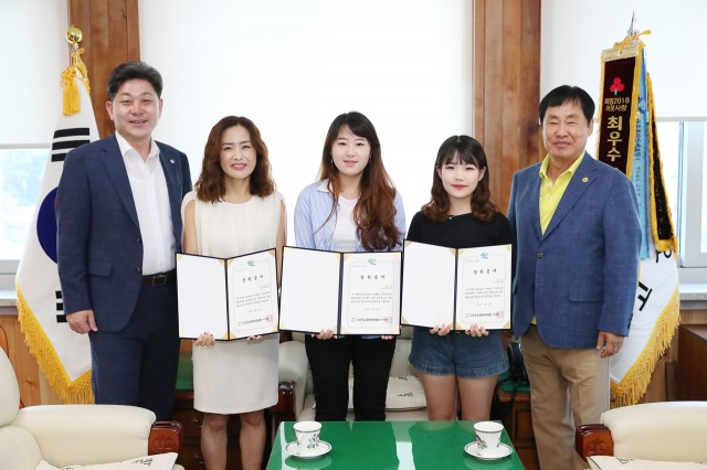7월27일 고성군교육발전위원회 장학금 전달식.jpg