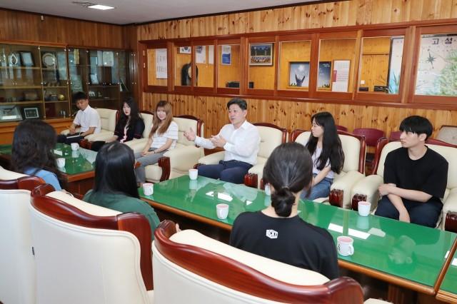 청년일자리사업 군수 간담회 (4).JPG