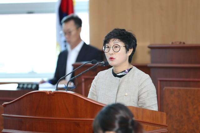 고성군의회 제237회 임시회 제1차 본회의 (이쌍자의원).JPG