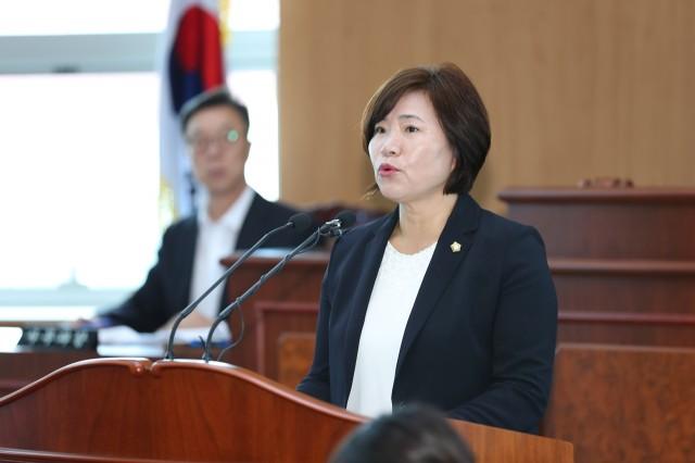 고성군의회, 제237회 임시회 제1차 본회의 (김원순의원).JPG