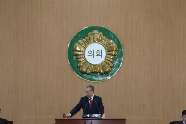 고성군의회, 2019년 새해 첫 임시회 개회 (2).JPG