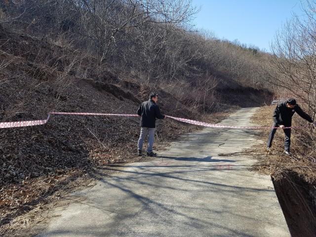 고성군, 국가안전대진단기간 산림분야 재해 위험지 점검.jpg