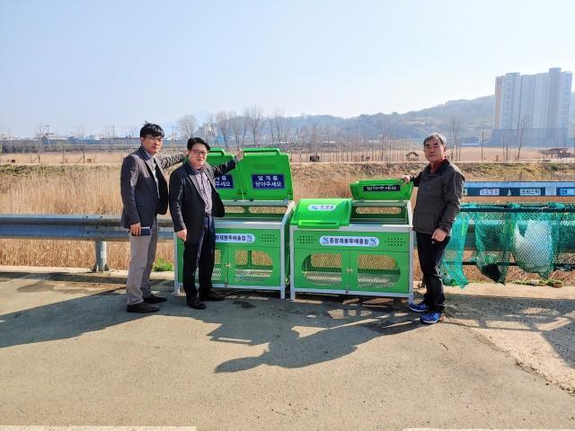 고성읍  쓰레기 종량제봉투 전용 수거함 설치(대안마을) (1).jpg