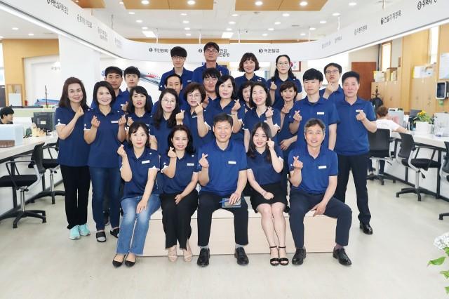 고성군 민원봉사과, 여름맞이 근무복으로 새단장.JPG