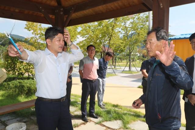 고성 대가저수지, 고성군 새로운 관광명소로 육성(대가저수지 현장방문) (1).JPG