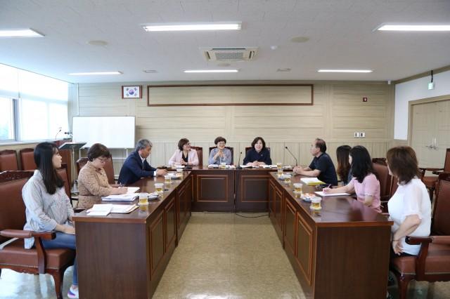고성군의회, 관내 어린이집 관계자와 소통 간담회 개최.JPG