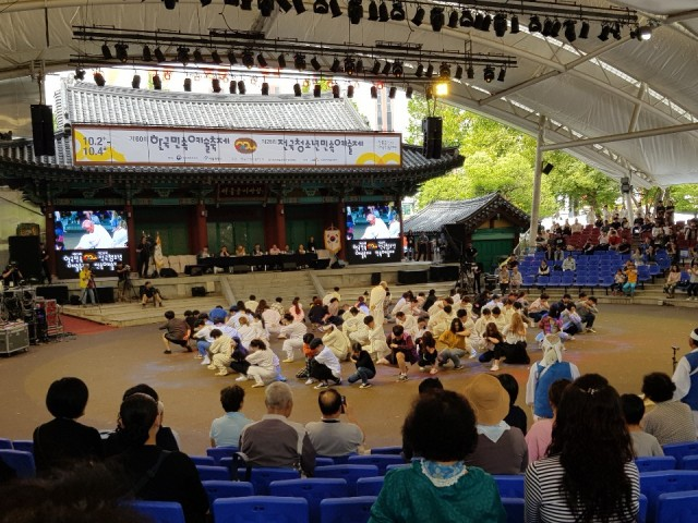 고성오광대, 제60회 한국민속예술축제 '대상' 대통령상 수상 (1).jpg