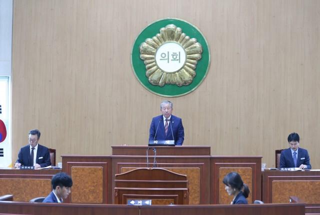 고성군의회, 제247회 임시회 개회.JPG