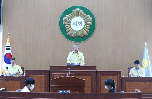 2. 고성군의회, 제255회 임시회 폐회.JPG