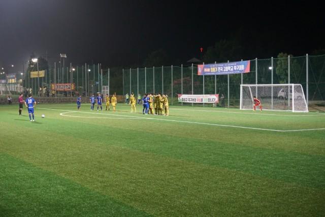 1-1 제57회 청룡기 전국고등학교축구대회 경남 고성서 개최.JPG