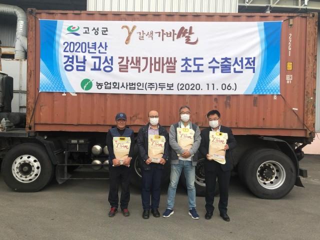 3-1 고성 가바쌀, 20톤 미국 수출.jpg