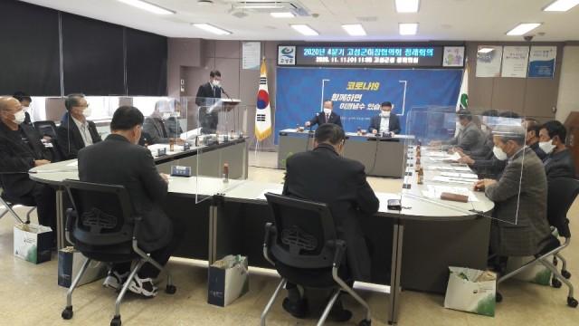 4-2 고성군이장협의회 2020년 4분기 정례회의 개최 (1).JPG