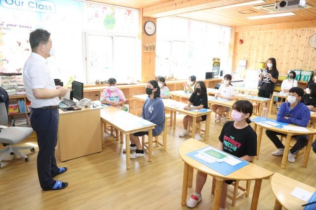 1-1 마을 숲 살려 달라 초등학생 건의 개선에 나선 고성군.JPG
