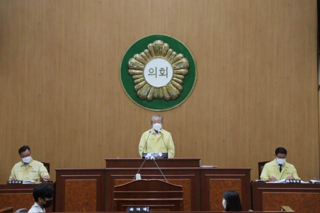 3-1 고성군의회 제266회 임시회 폐회.JPG