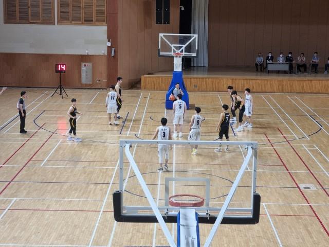 2-1 2021 고성군 전국 엘리트 유소년 농구대회 개최-전국체전 고등부 최종선발전(2021. 6. 고성군국민체육센터).jpg